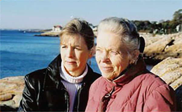 Margaret Ashmore with Elizabeth Elliot