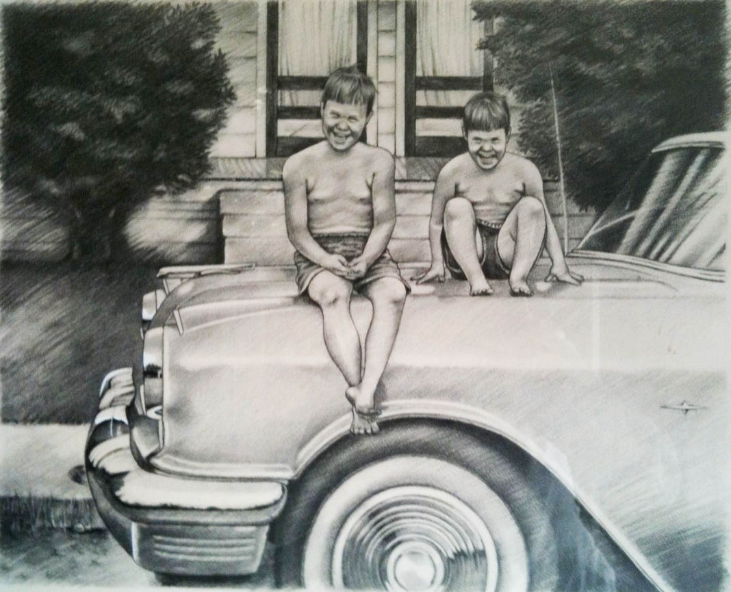 Aunt Ruby's Drawing by Margaret Ashmore