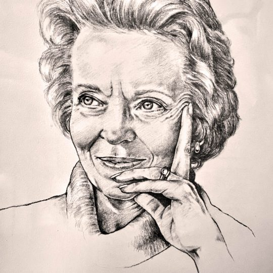 Signed Portrait of Elisabeth Elliot